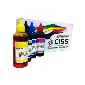 Epson WorkForce 545, 630, 633, 635, 840, 845, WF-3520, WF-3540, WF-7010, WF-7510, WF-7520 Continuous Ink System (CIS) refill Kit