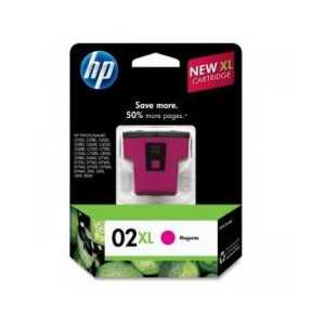 Original HP 02XL Magenta ink cartridge, High Yield, C8731WN