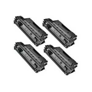 Compatible HP 05X toner cartridges, High Yield, CE505X, 4 pack