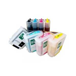 HP 10 / 82 Continuous Ink System (CIS) with Ink