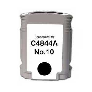 Remanufactured HP 10 Black ink cartridge, C4844A
