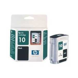 Original HP 10 Black ink cartridge, C4844A