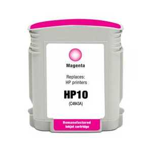 Remanufactured HP 10 Magenta ink cartridge, C4843A
