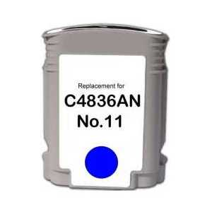 Remanufactured HP 11 Cyan ink cartridge, C4836A
