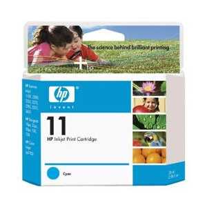 Original HP 11 Cyan ink cartridge, C4836A