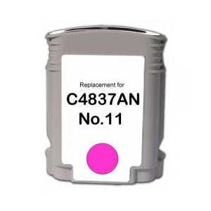 Remanufactured HP 11 Magenta ink cartridge, C4837A