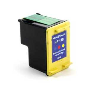 HP 110 Tricolor remanufactured ink cartridge - CB304AN