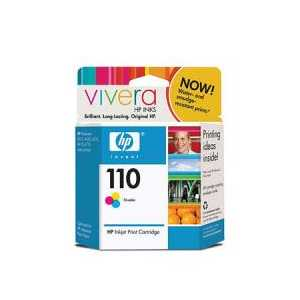 HP 110 Tricolor genuine OEM ink cartridge - CB304AN