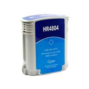 Remanufactured HP 12 Cyan ink cartridge, C4804A