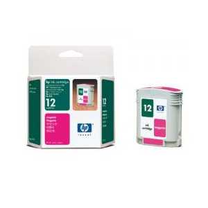 HP 12 Magenta genuine OEM ink cartridge - C4805A