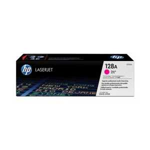 Original HP 128A Magenta toner cartridge, CE323A, 1300 pages