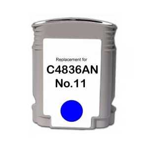 HP 13 Cyan remanufactured ink cartridge - C4815A