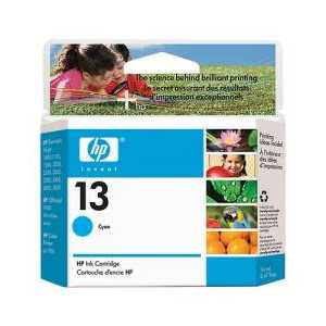 HP 13 Cyan genuine OEM ink cartridge - C4815A
