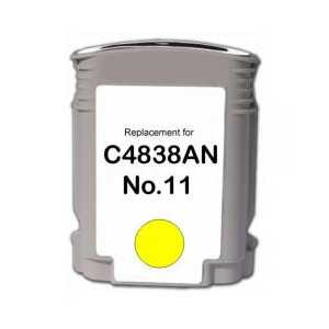 HP 13 Yellow remanufactured ink cartridge - C4817A