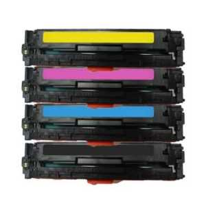 Compatible HP 131A toner cartridges, 4 pack