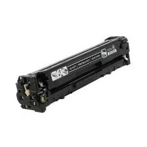 Remanufactured HP 131A Black toner cartridge, CF210A, 1600 pages