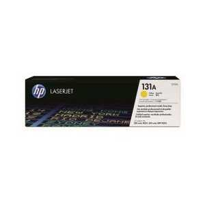 Original HP 131A Yellow toner cartridge, CF212A, 1800 pages