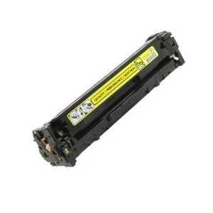 Remanufactured HP 131A Yellow toner cartridge, CF212A, 1800 pages