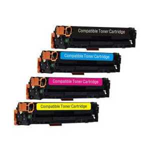 Compatible HP 131X, 131A toner cartridges, High Yield, 4 pack