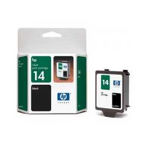 Original HP 14XL Black ink cartridge, High Yield