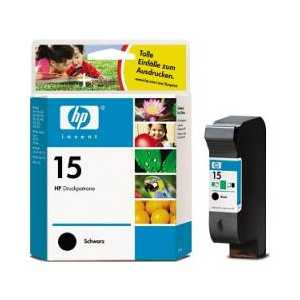Original HP 15 ink cartridge, C6615DN