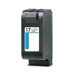 Remanufactured HP 17 Tricolor ink cartridge, C6625A