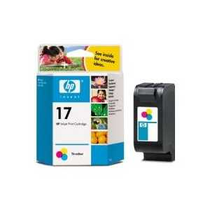 Original HP 17 ink cartridge, C6625A