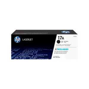 Original HP 17A Black toner cartridge, CF217A, 1600 pages