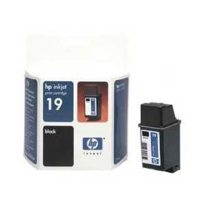 HP 19 Black genuine OEM ink cartridge - C6628A