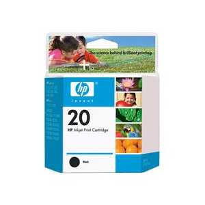 Original HP 20 ink cartridge, C6614D