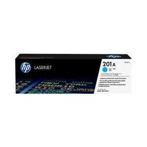Original HP 201A Cyan toner cartridge, CF401A, 1400 pages