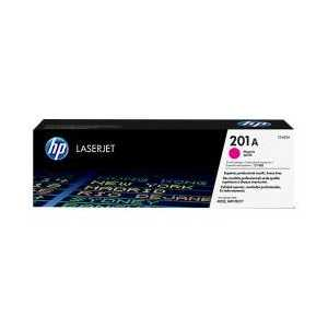 Original HP 201A Magenta toner cartridge, CF403A, 1400 pages