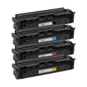 Compatible HP 206X toner cartridges, High Yield, without chip, 4 pack