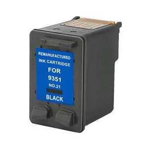 Remanufactured HP 21 Black ink cartridge, C9351AN