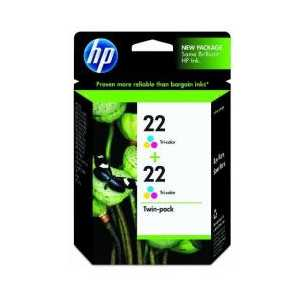 Multipack - HP 22 genuine OEM ink cartridges - CC580FN - 2 pack