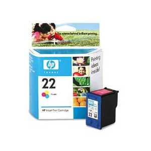 Original HP 22 ink cartridge, C9352AN