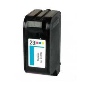 Remanufactured HP 23 Tricolor ink cartridge, C1823D