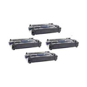 Remanufactured HP 25A toner cartridges, 4 pack