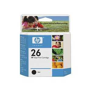Original HP 26 ink cartridge, 51626A