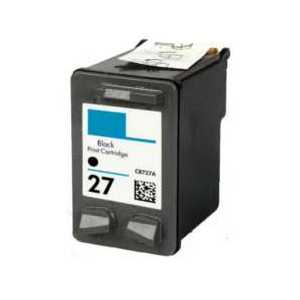 Remanufactured HP 27 Black ink cartridge, C8727AN