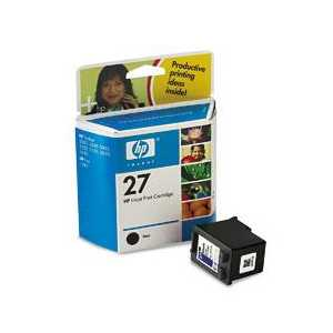 Original HP 27 ink cartridge, C8727AN