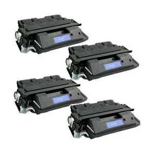 Compatible HP 27X toner cartridges, High Yield, C4127X, 4 pack