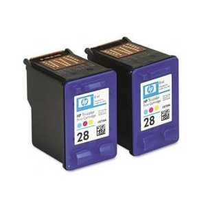 Multipack - HP 28 genuine OEM ink cartridges - CD995FN - 2 pack