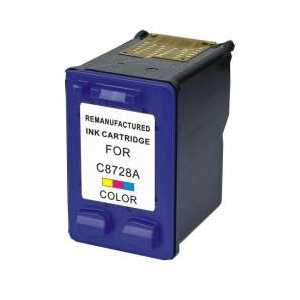 Remanufactured HP 28 Tricolor ink cartridge, C8728AN