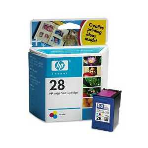 Original HP 28 ink cartridge, C8728AN