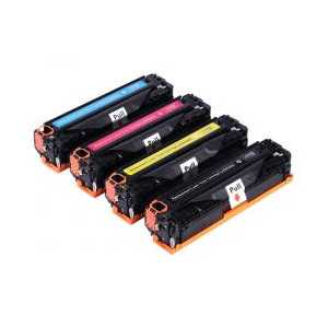 Remanufactured HP 308A, 309A toner cartridges, 4 pack