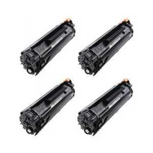Remanufactured HP 35A toner cartridges, 4 pack
