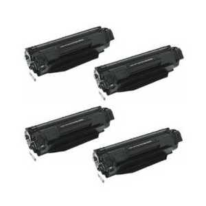 Compatible HP 36A toner cartridges, CB436A, 4 pack