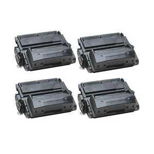 Compatible HP 39A toner cartridges, Q1339A, 4 pack