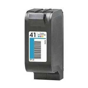 Remanufactured HP 41 Tricolor ink cartridge, 51641A
